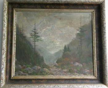Berglandschaft - Trunke - 1940