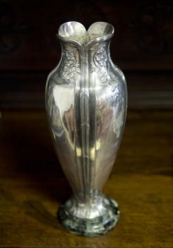 Vase - Metall, Marmor - O. Gallia, France - 1910