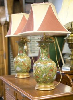 Lampe - Emaille - 1950