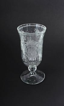 Glasbecher - klares Glas - 1900